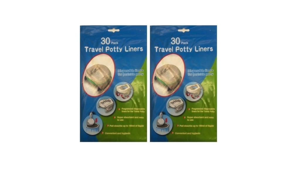 Bolsas desechables Travel Potty Liners para orinales