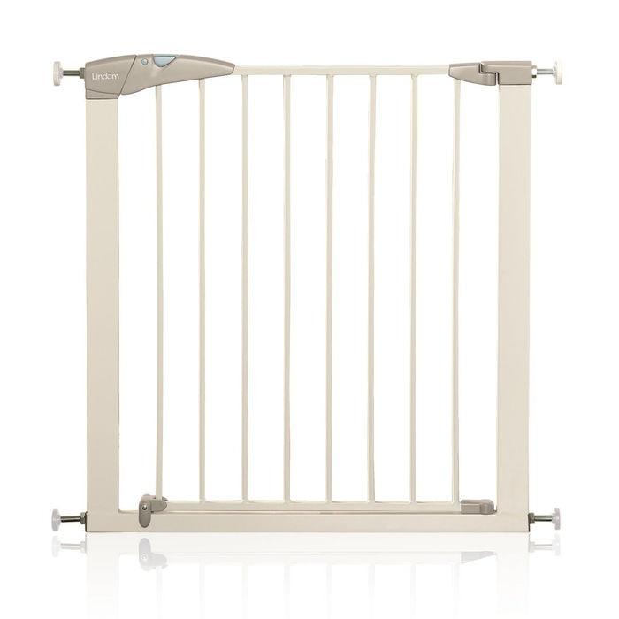 Lindam - Barrera de seguridad con puerta (75-82cm)