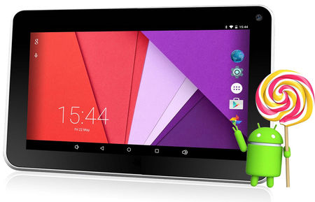 Time2 - Tablet 7'' (Quad Core CPU, 1024*600 HD, 16 GB, 1 GB RAM).