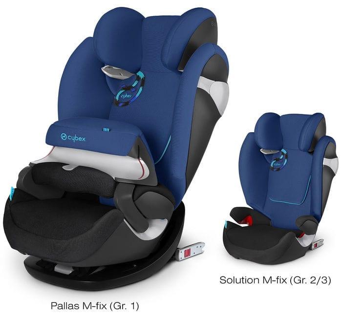 Cybex pallas m fix silla de coche para ni os del grupo 1 2 3 opini n - Sillas grupo 2 3 mas seguras ...