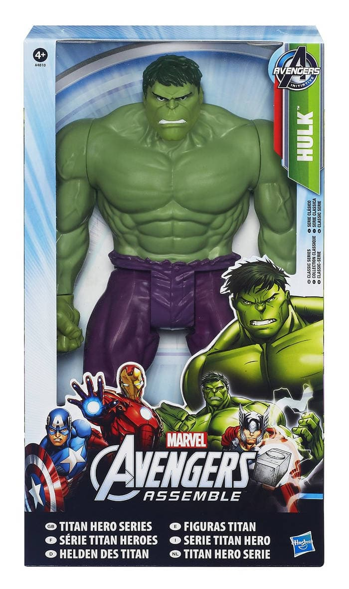 -The Avengers - Superhéroe Hulk figura