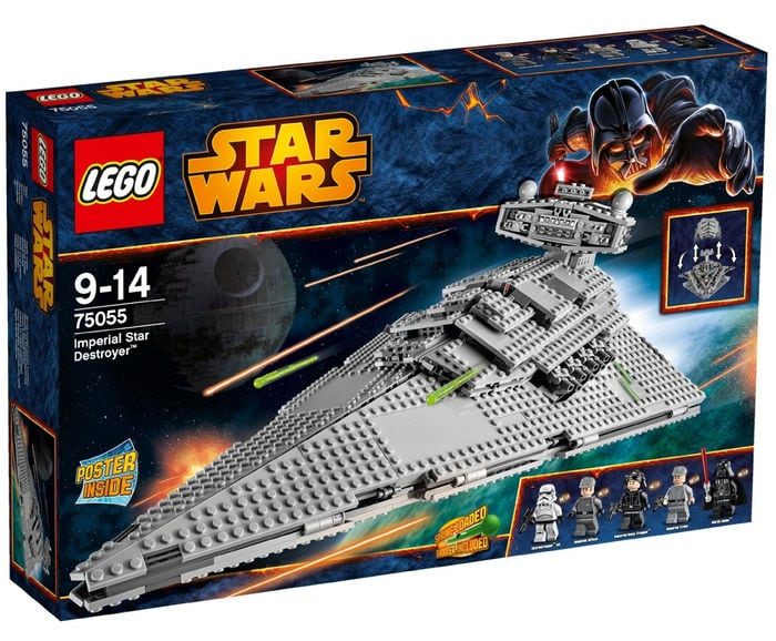 LEGO Star Wars - Imperial Star Destroyer, playset (75055)