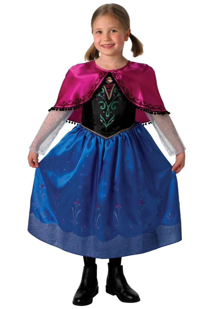 Disney Frozen - Disfraz de Anna para niña (talla S) 3-4 Años