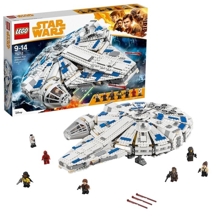 Lego Star Wars Halcón Milenario del Corredor De Kessel (75212)