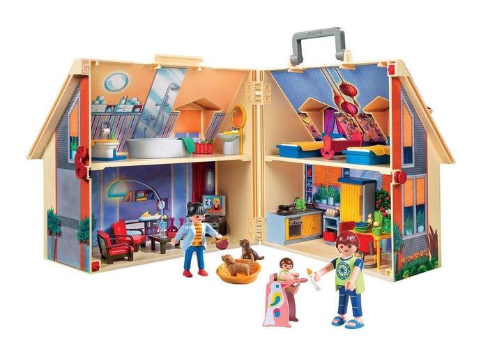Playmobil - Maletín casa de muñecas