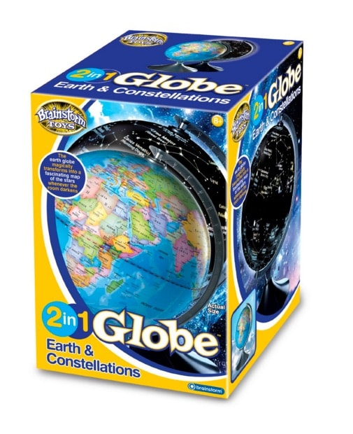 Eureka! - Globo con la Tierra y las constelaciones