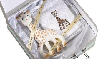 Regalo para recién nacidos por menos de 30 euros: Maleta de Sophie la Girafe