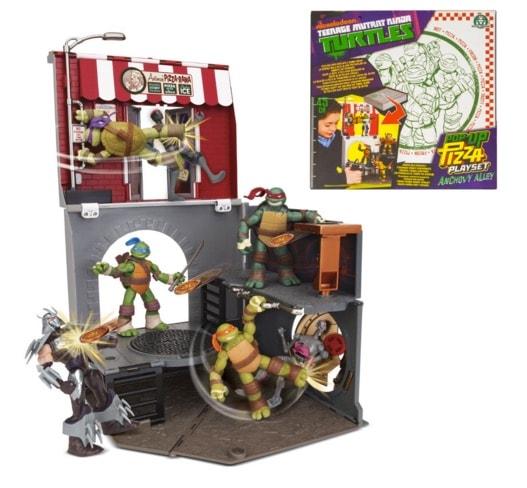Tortugas Ninja - Set de juego Pop Up Pizza, 45 cm (Giochi Preziosi 95031)