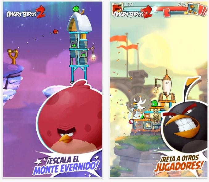 Los mejores videojuegos para niños en 2016: Angry Birds 2