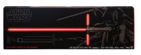 El sable láser de Kylo Ren (Star Wars)