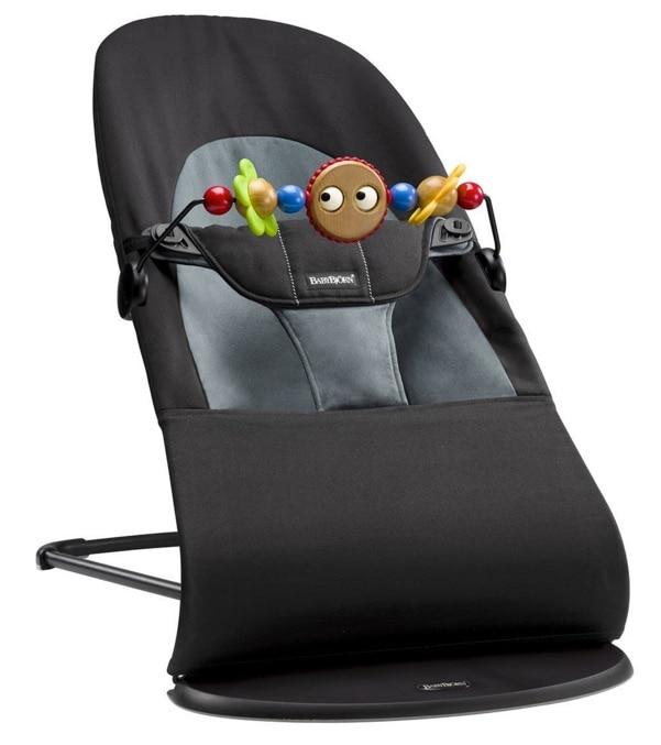 BabyBjörn Balance Soft - Hamaca + juguete de madera