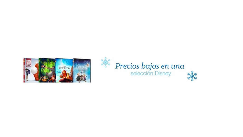 Ofertas de última hora en la Tienda de Navidad de Amazon España – Bebés y videojuegos y películas Disney