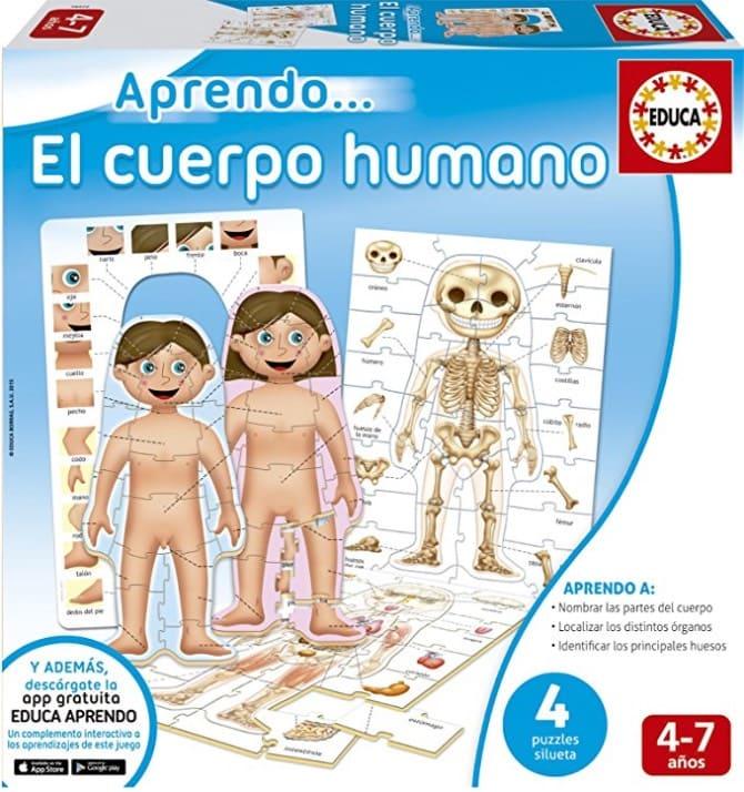 Juguetes STEM de Ciencia:Educa Borrás - Aprendo…El cuerpo humano (16472)