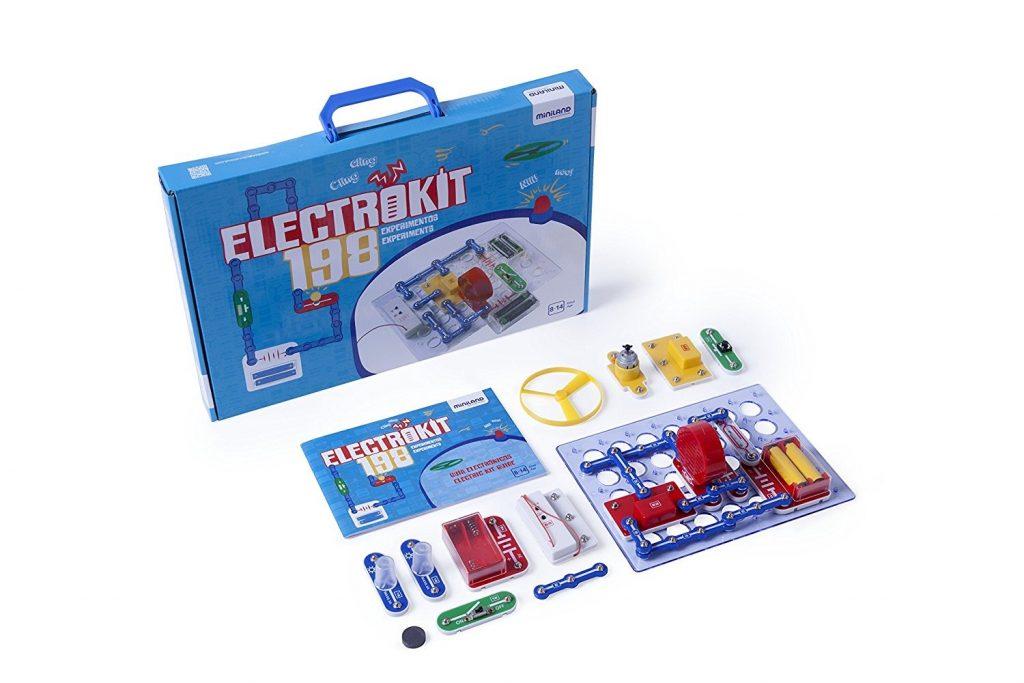 Miniland - Electrokit 198 Experiments (99116)