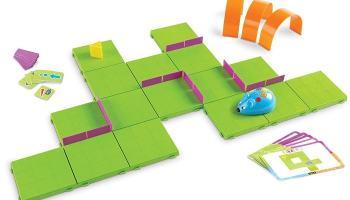 Juguetes STEM de programación: Juego de actividades de ratón robot Code & Go