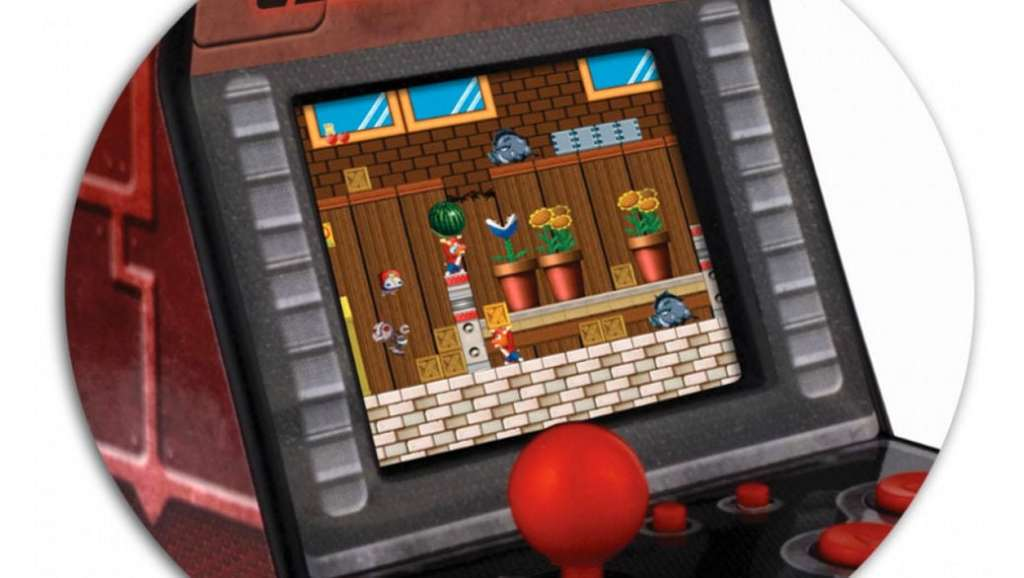 Lexibook - Consola Ciber Arcade para jugar a videojuegos clásicos
