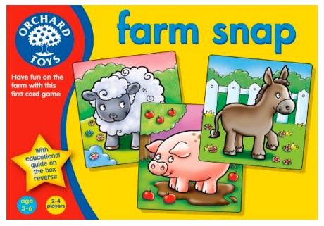 Orchard Toys - Juego de memoria, diseño de animales de granja