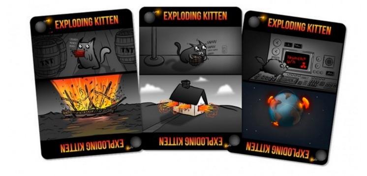 Exploding Kittens: Un juego de mesa gatuno para toda la familia (instrucciones)
