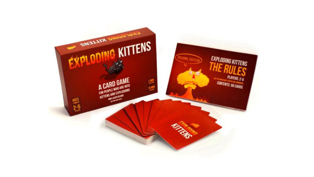 Exploding Kittens: Los gatos nunca habían sido tan peligrosos en un juego de mesa para toda la familia