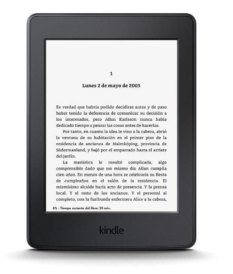 ereader Kindle Paperwhite: Regalo día de la madre
