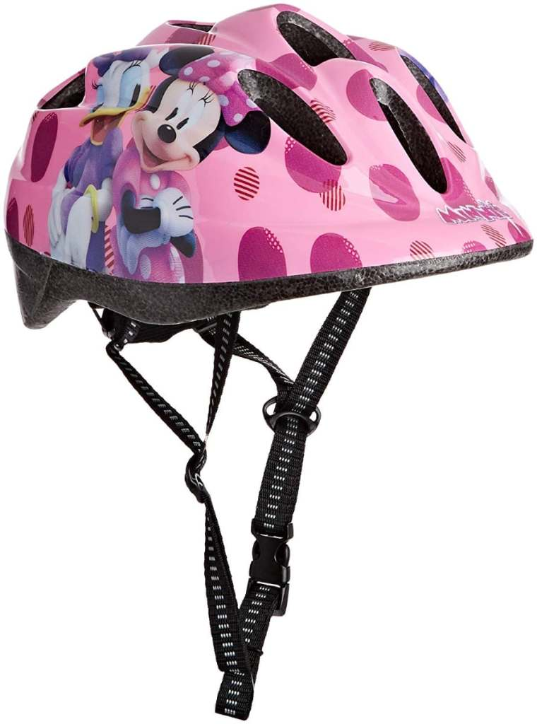 Casco de ciclismo con Minnie Mouse