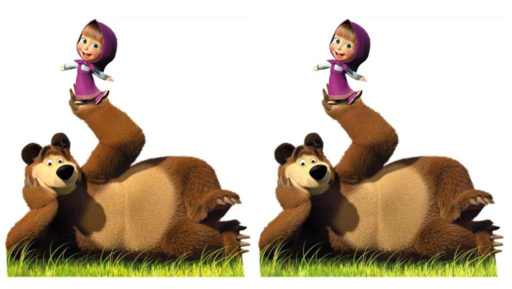Dibujos para niños: Masha y el oso y booba