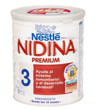 ¿Alguna leche de formula recomendada a partir del año de edad? Nidina 3 Crecimiento.