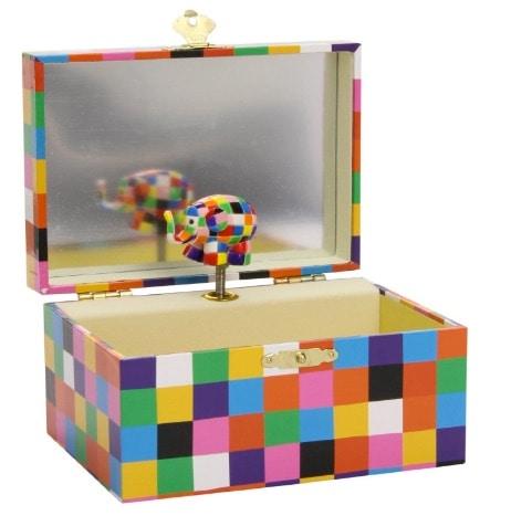 Trousselier - Caja de música, diseño Elmer
