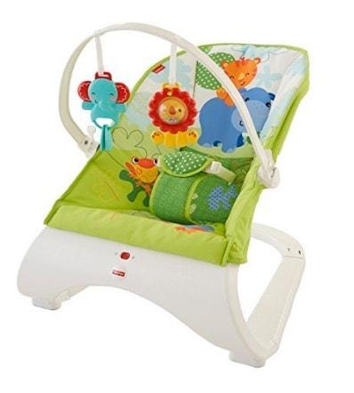 Fisher Baby Gear - Hamaca confort y diversión, color verde (Fisher Price CJJ79) en oferta