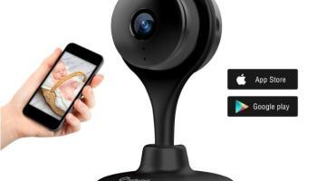Vigilabebés de Misafes con visión nocturna y app para smartphones