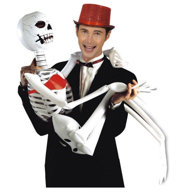 Esqueleto inflable Halloween