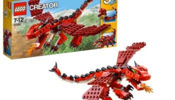 LEGO - Criaturas rojas, multicolor (31032)