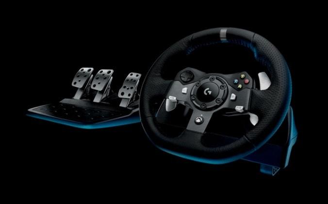 A mitad de precio: Logitech – Driving Force Volante De Carreras G920 para Xbox One y PC en Amazon España