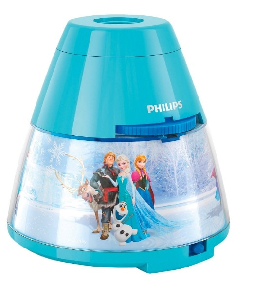 Philips Disney Frozen - Proyector y luz nocturna 2 en 1