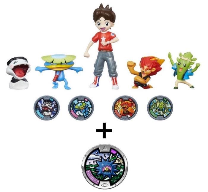¡Atención! Pack exclusivo de figuras de Yo-Kai Watch como regalo de Reyes Magos