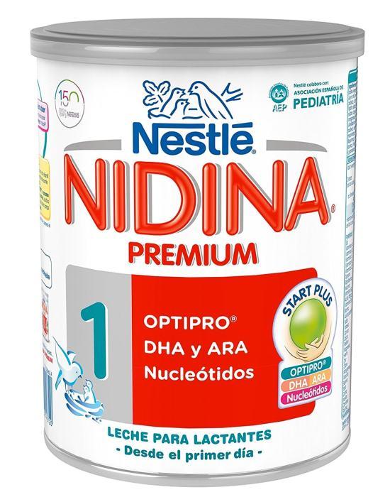 Nidina - 1 Premium Leche en polvo para lactantes - 800 g