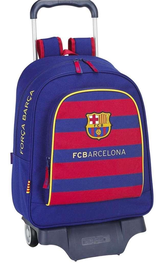 F.C. Barcelona - Mochila infantil con ruedas