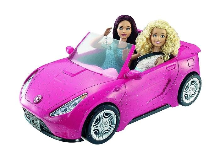 Barbie - Coche descapotable (Mattel DVX59)