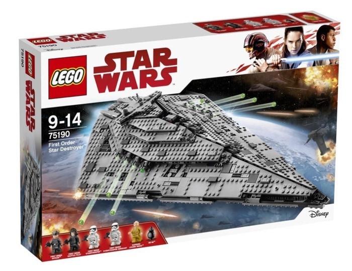 Especial Black Friday: Oferta en juegues LEGO Star Wars