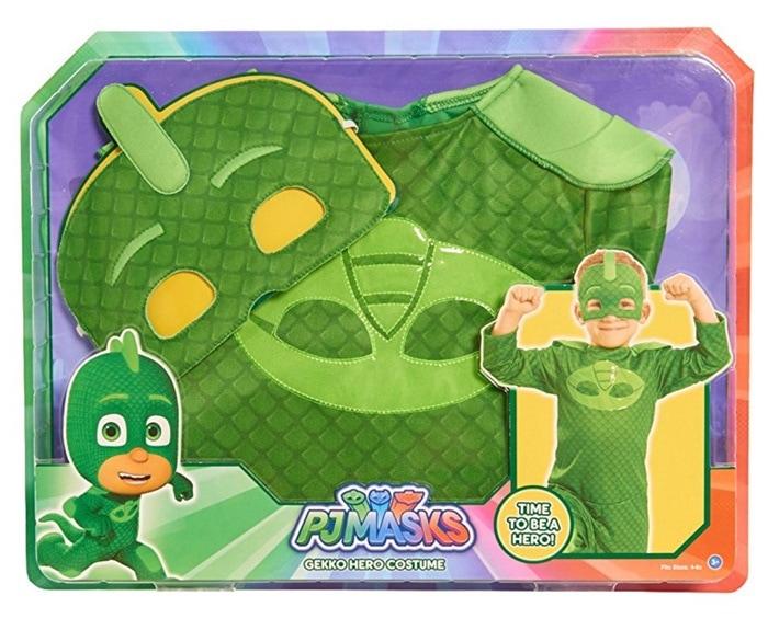 PJ Masks - Transfórmate en Gekko, en Gatuno o Buhita (disfraces)