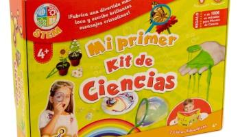 "Science4you-Juego ""mi Primer Kit de Ciencia"" con 26 experimentos"