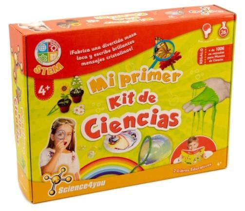 """Science4you-Juego """"mi Primer Kit de Ciencia"""" con 26 experimentos"""