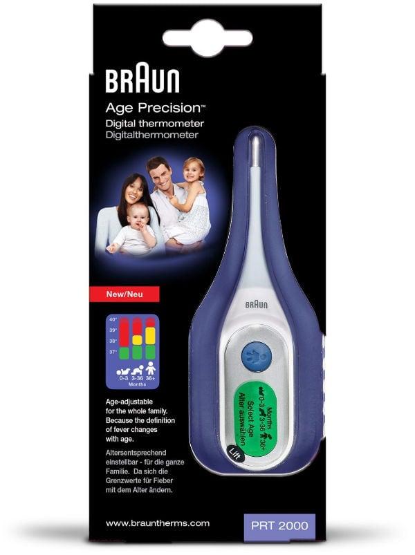 Braun PRT2000 Termómetro digital con Age Precision