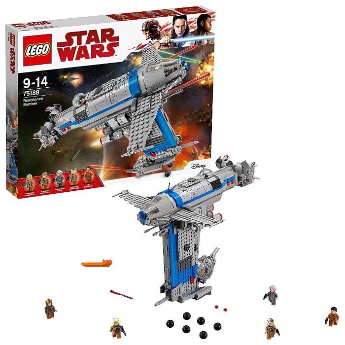 LEGO Star Wars - Bombardero de la Resistencia (75188)