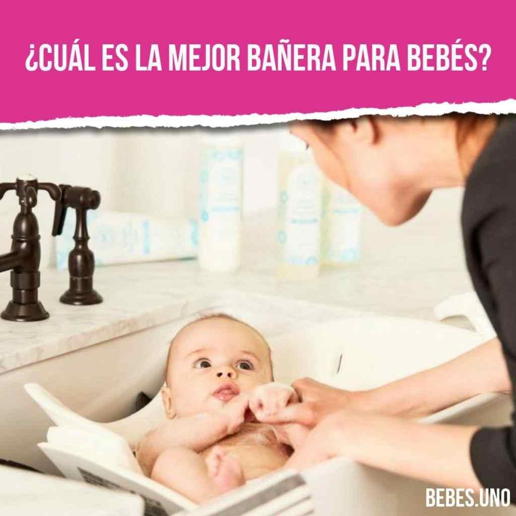 ¿Cuál es la mejor bañera para bebés?