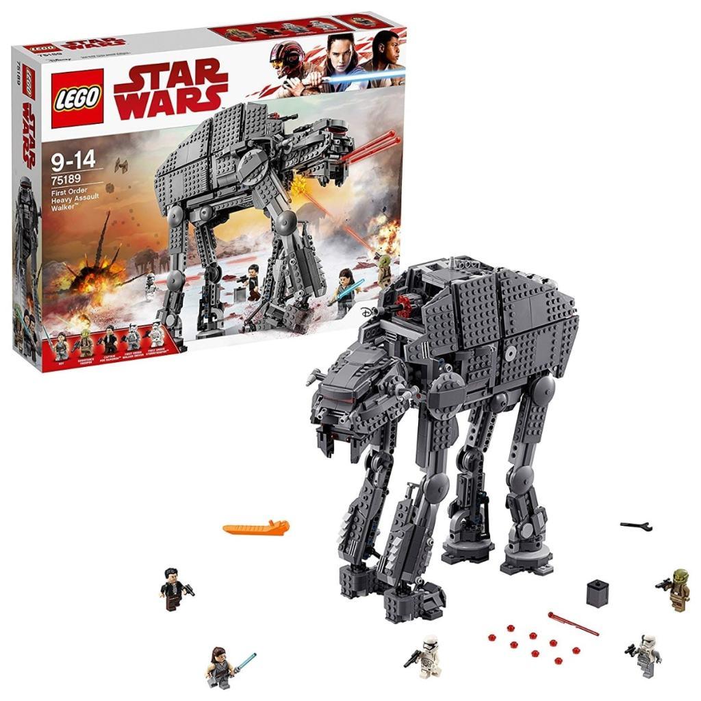 Los mejores juguetes LEGO Star Wars que puedes comprar: LEGO Star Wars TM - First Order Heavy Assault Walker