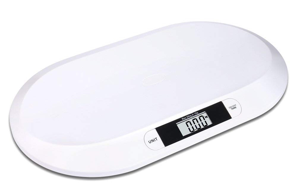 Báscula plana digital para bebés hasta 20kg de Schramm Onlinehandel