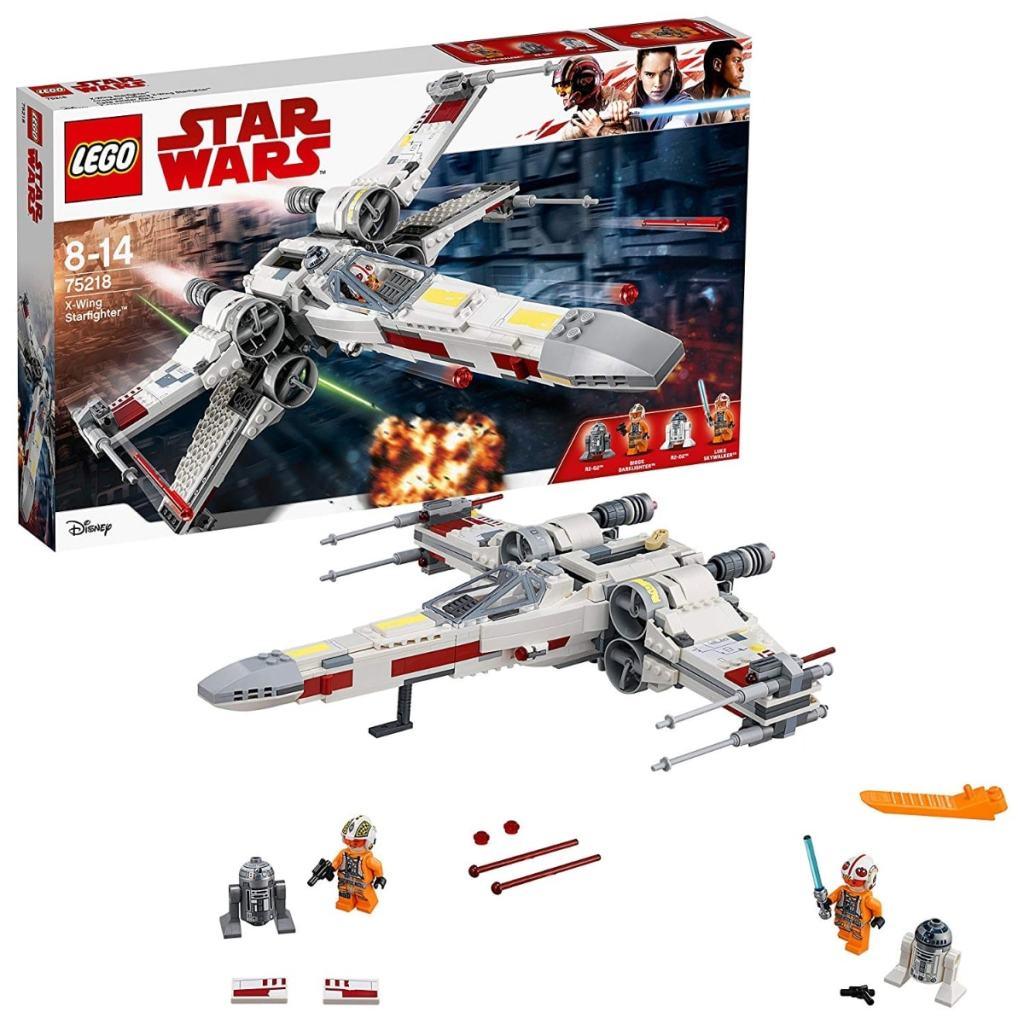 Los mejores juguetes LEGO Star Wars que puedes comprar:  LEGO Star Wars - Caza estelar Ala-X (75218)
