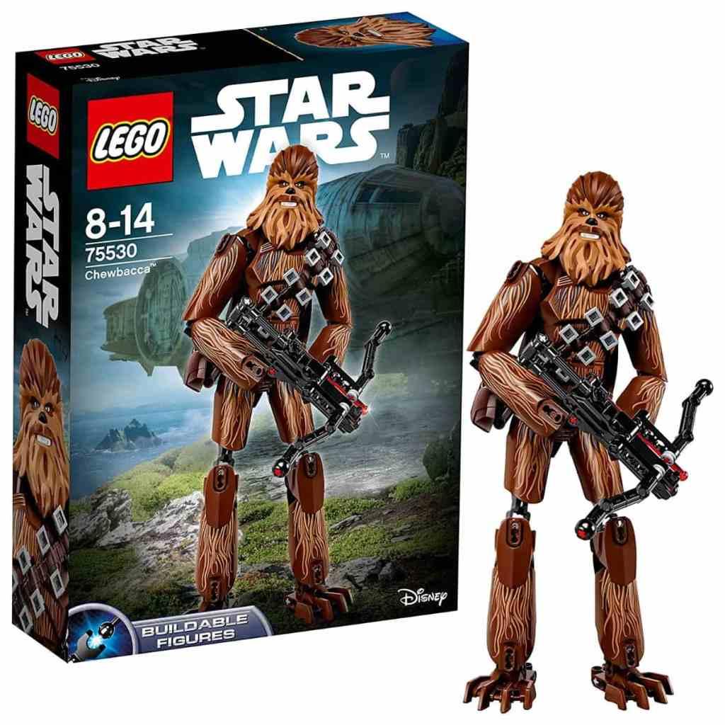 Puedes comprar figuras de LEGO Star Wars