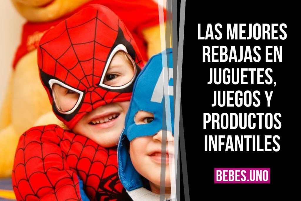 Las mejores rebajas de marzo en juguetes, juegos y productos infantiles (Amazon España)